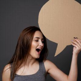Parole, parole, parole…ma a voce alta! (anche da soli)